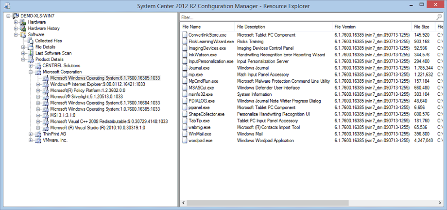 how to create software packages in ms systems centre