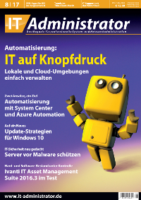 IT Administrator magazine cover