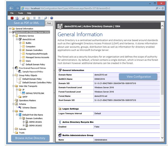 Active Directory screenshot