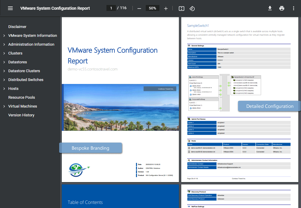 VMware Reporting & Inventory Tool - XIA Configuration Software