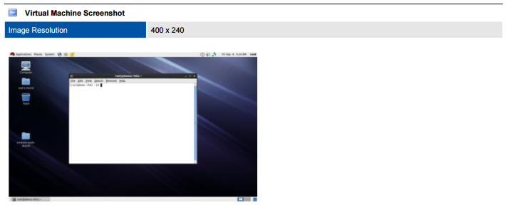 VMware virtual machine screenshot