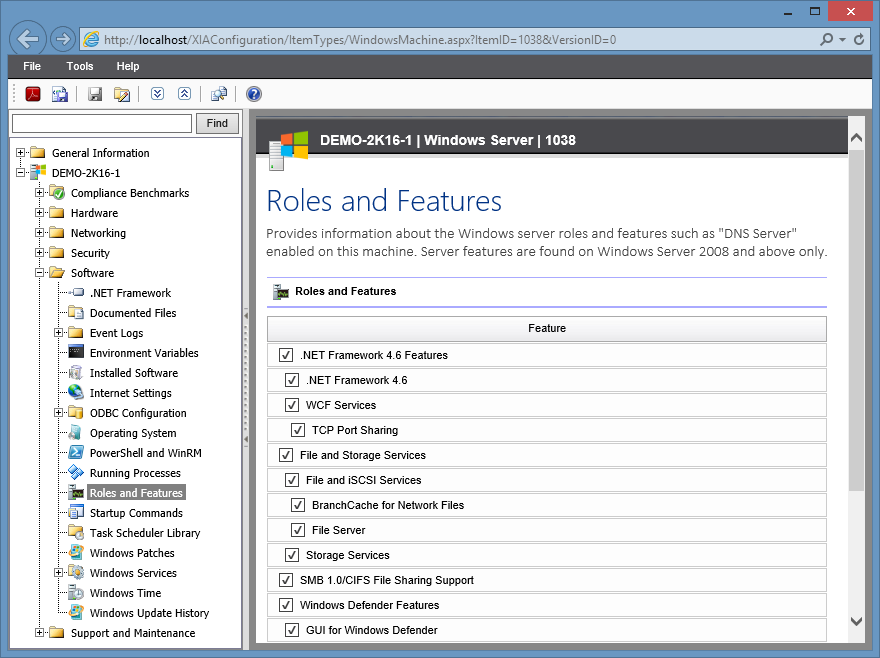 windows server windows server inventory reporting documentation tool