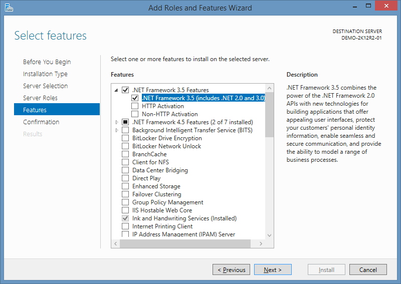 Kb168068482: automation engine how to enable. Net framework 3. 5.