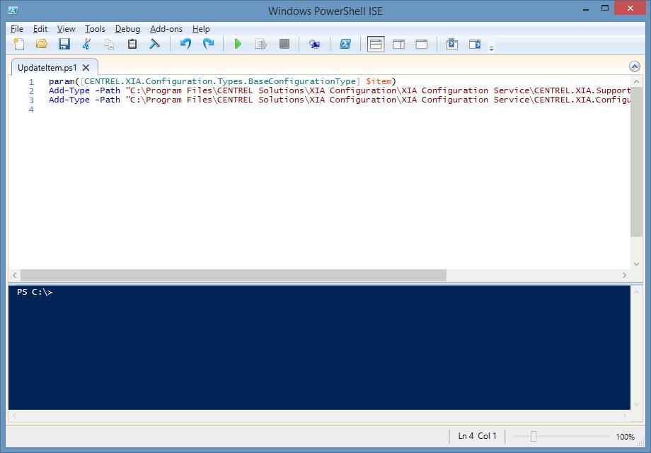 Executing PowerShell Scripts